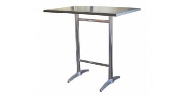 Astoria Aluminium Twin Bar Table Base