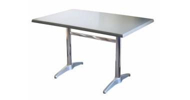 Astoria Aluminium Twin Table Base