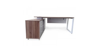 Cello Executive Desk - Left Hand Return