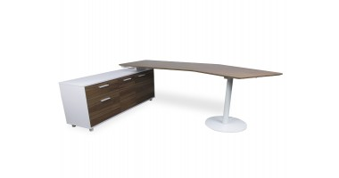 Elite Executive Desk - Left Hand Return, Conference End