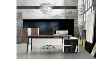 Evoke Executive Desk - Left Hand Return