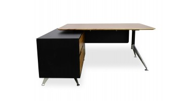 Linea Executive Desk - Left Hand Return