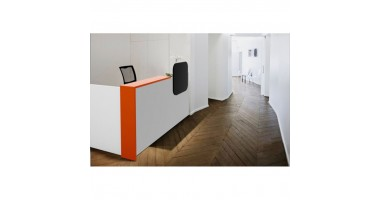 Sleek Reception Desk