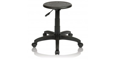 Industrial Stool Single Lever - No Back, with footring