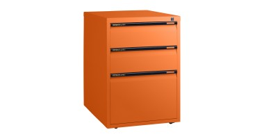 Statewide 2 Personal + 1 Filing Drawer Mobile Pedestal