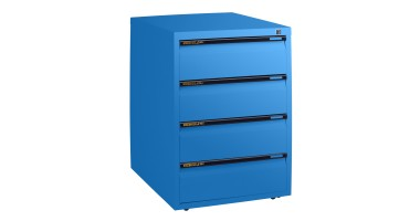 Statewide 4 Personal Drawer Mobile Pedestal